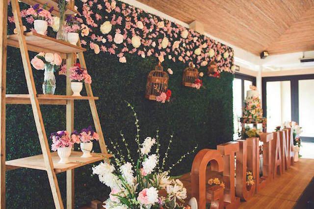 flores bonitas decoración magnífica fiesta tematica