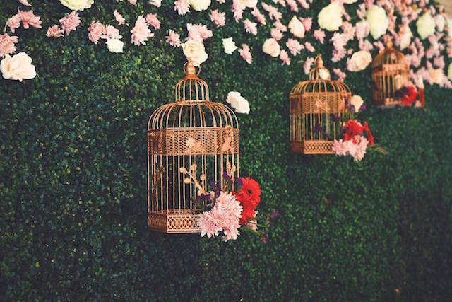 flores bonitas decoracion tematica jardin secreto salón