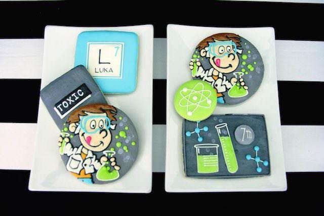 galletas fantásticas decoración de fiestas infantiles