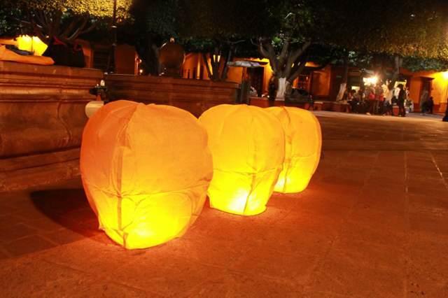 globos de cantoya fiesta memorable despedida de soltera fantástica