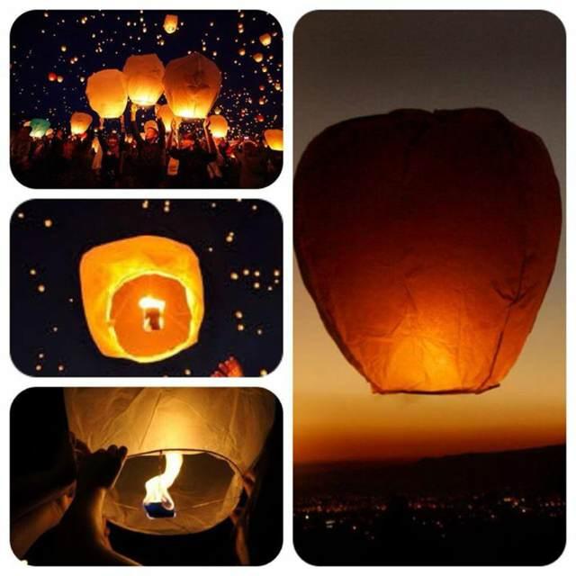 globos de cantoya ideas fiestas temáticas originales