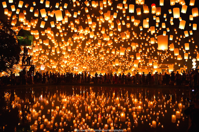 globos de cantoya magia momento memorable