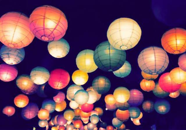 globos de cantoya decoración preciosas despedida de soltera