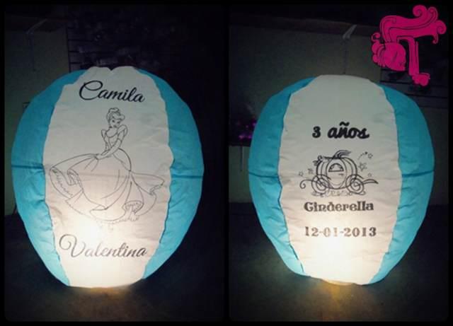 globos de cantoya redondos ideas fiestas infantiles