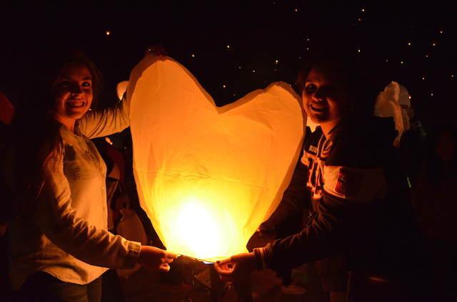 globos de luz preciosa variedad noviazgo memorable