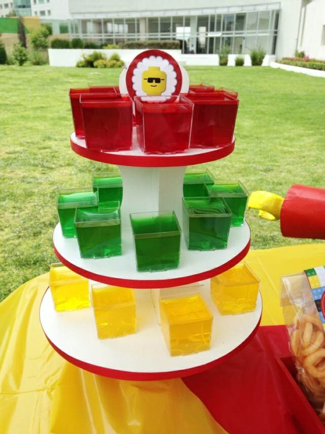 ideas originales tema lego decoración de fiestas infantiles divertidas