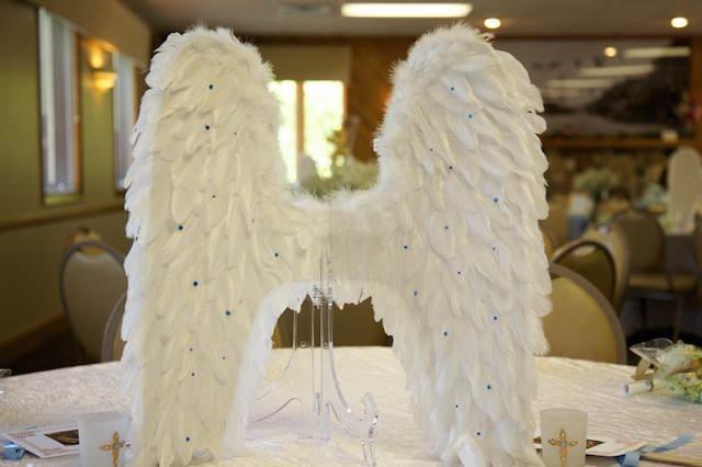 ideas para baby shower tema angeles tiernos