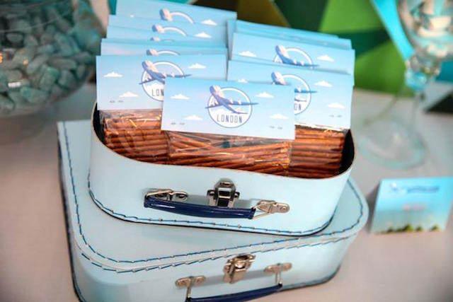 ideas para baby shower viajes invitaciones