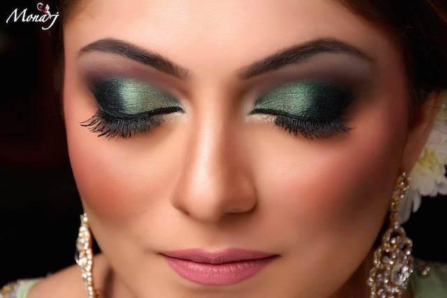 magnifico maquillaje de novia estilo indio 2015