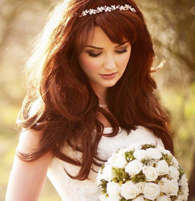 maquillaje de novia estilo vintage moderno