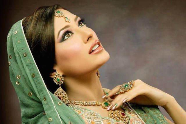 maquillaje de novia ideas exóticas 2015