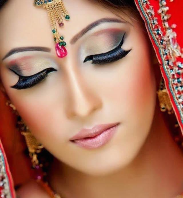 maquillaje de novia ideas modernas indias 2015