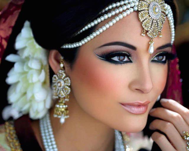 maquillaje de novia modа árabe 2015