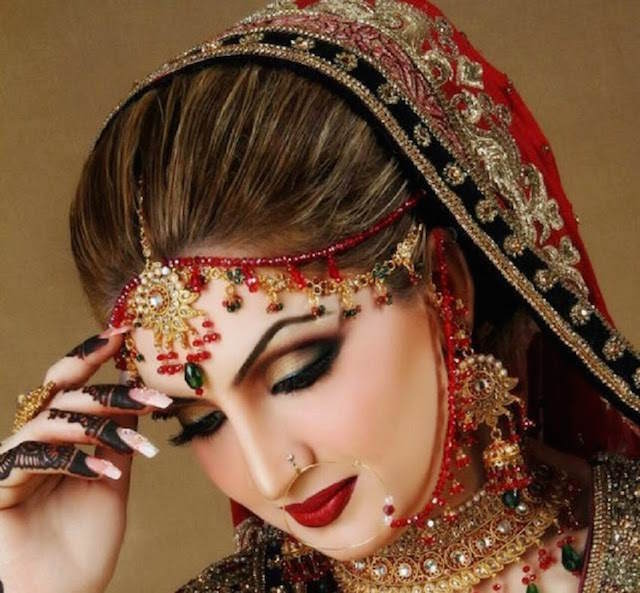 maquillaje para novias estilo pakistaní moda