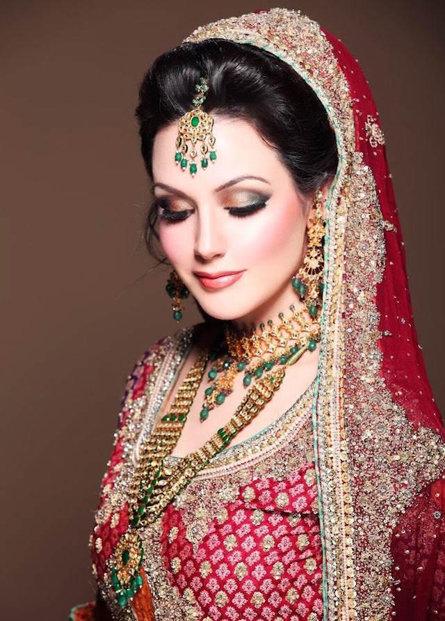 moda 2015 maquillaje de novia estilo indio