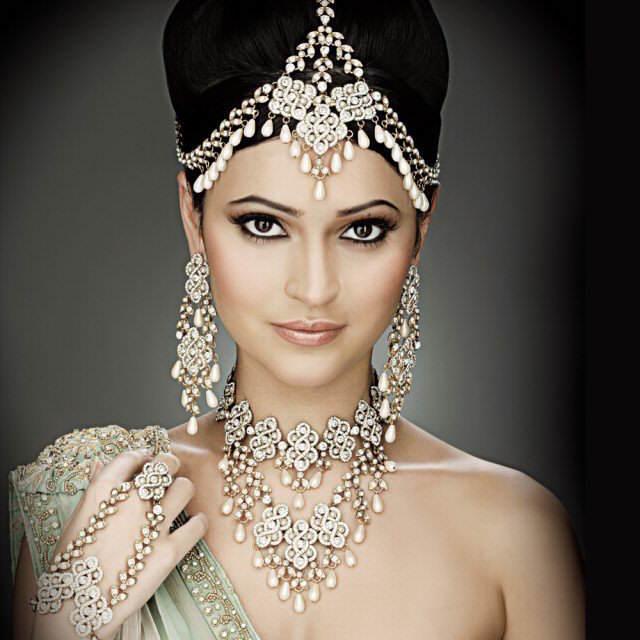 novia exótica ideas modernas estilo pakistaní