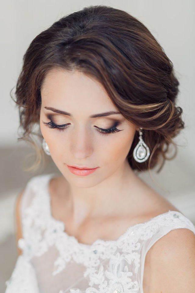 novia preciosa maquillaje ideas modernas 2015