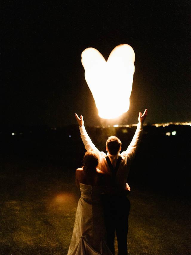 noviazgo globos de luz ideas románticas mágicas