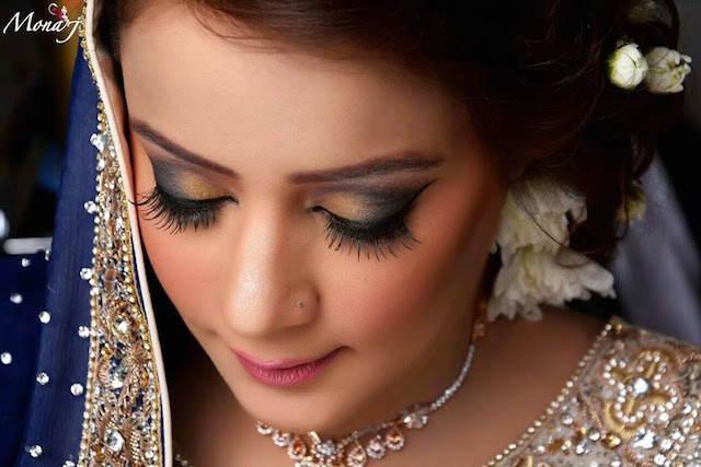 nuevas ideas modernas maquillaje de novia magnífico