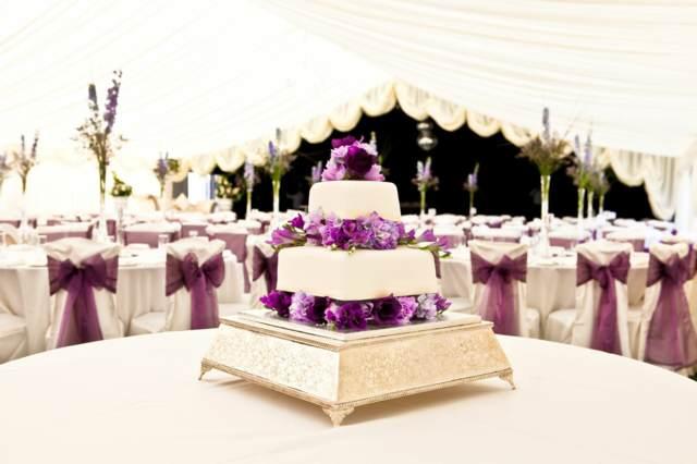 pastel maravilloso decoración fantástica color blanco lila