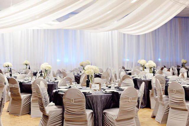 magnífica decoración sala bodas de plata