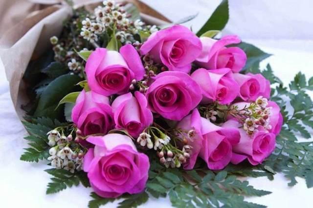 flores bonitas ramo de rosas maravillosas ideas noviazgo inolvidable