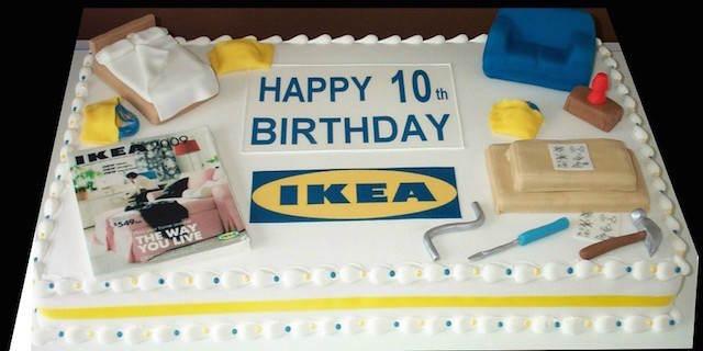 tarta corporativa ideas fantásticas diseño profesional Ikea