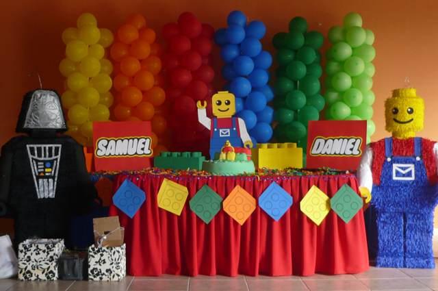 decoración de fiestas infantiles tema lego momentos divertidos