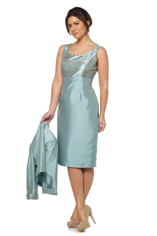 vestidos de madrina en vintage moderno