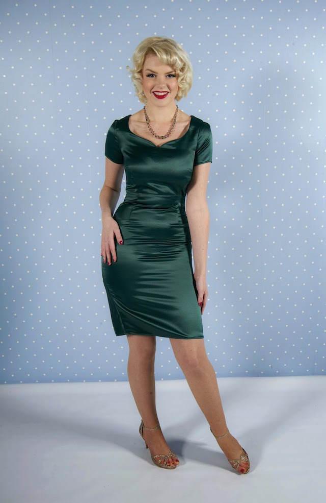 vestidos de madrina estilo vintage 2015 moda