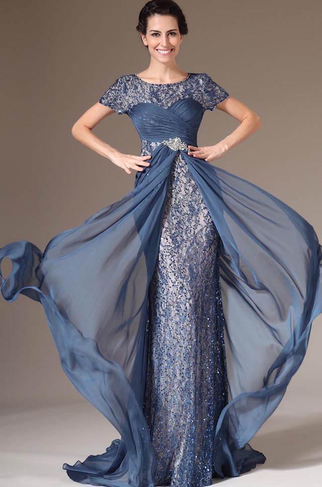 vestidos de madrina estilo vintage moda 2015