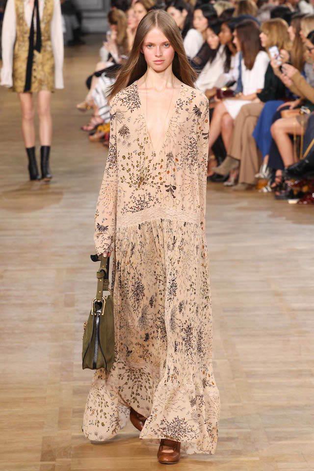 vestidos de madrina moda estilo boho chic