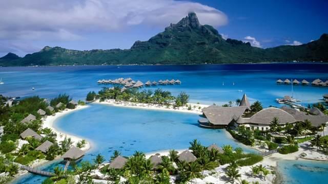 aniversario de novios Bora Bora Tahiti top destinos 2015 ideas románticas viaje exótico