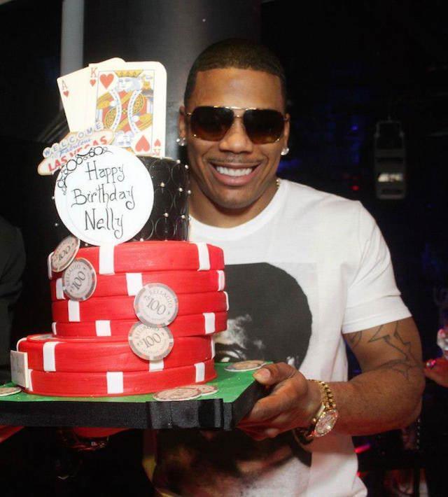 rapero Nelly cumpleaños decoración de pasteles