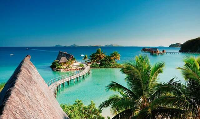aniversario de novios ideas inolvidables viaje romántico Fiji