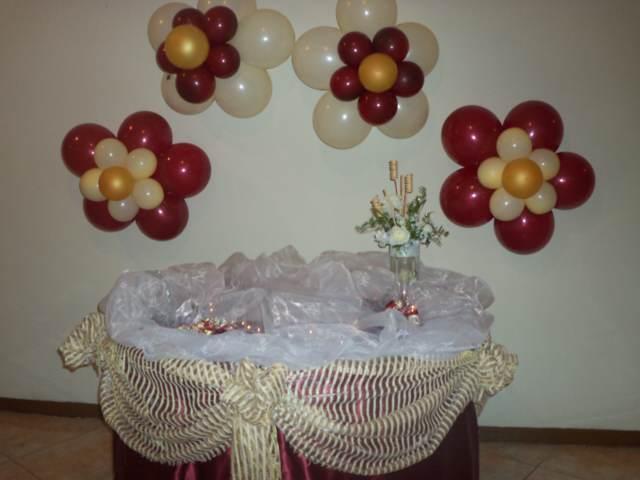 arreglos con globos interesantes fiestas de cumpleaños 15 años
