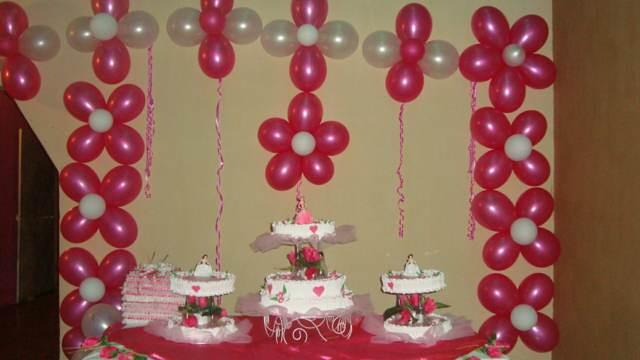 arreglos con globos ideas color rojo fiesta cumpleaños
