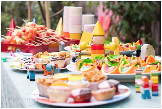 banquetes ideas para fiestas infantiles magníficas