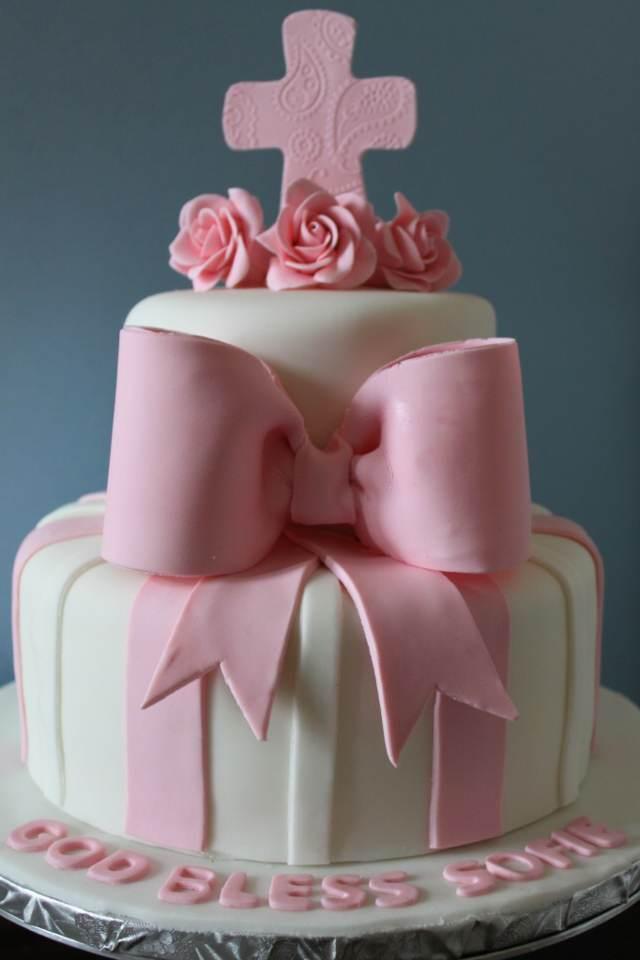 bautizo temático pastel decorado detalles importantes