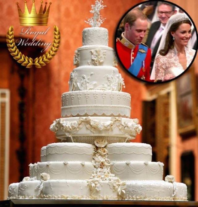 boda real príncipe Guillermo Middleton pastel