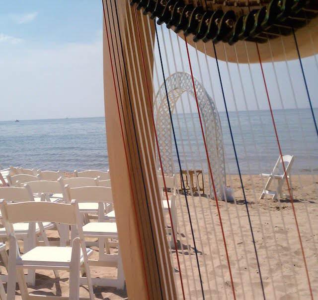 bodas en la playa canciones arpa romantica