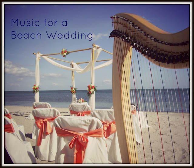 bodas en la playa música mágica arpa