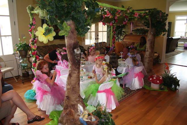 celebración baby shower temático cuentos de hadas