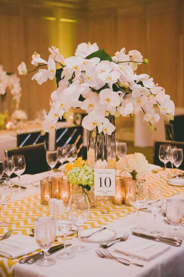 centro de mesa ideas maravillosas decoración orquídeas preciosas