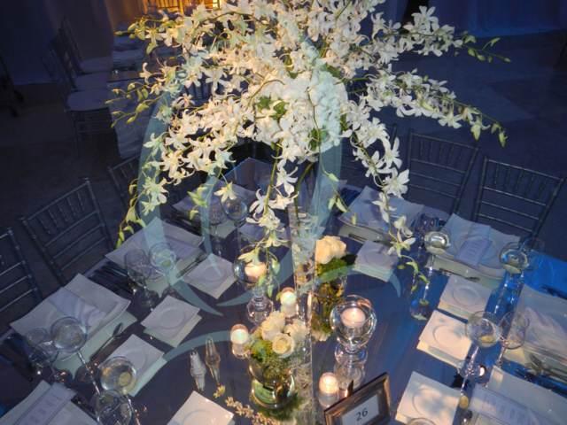 centro de mesa orquídeas maravillosas ideas temáticas