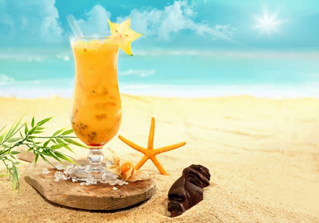 cóctel delicioso verano ideas originales sin alcohol