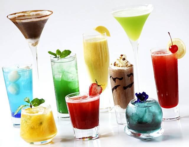 cócteles diferentes sabores sin alcohol ideas originales fiesta