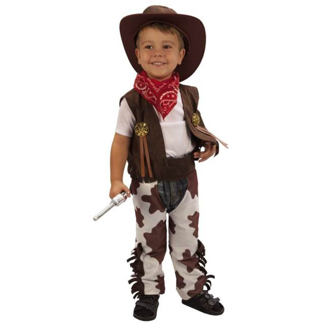 cowboy disfraz original niño ideas divertidas vintage