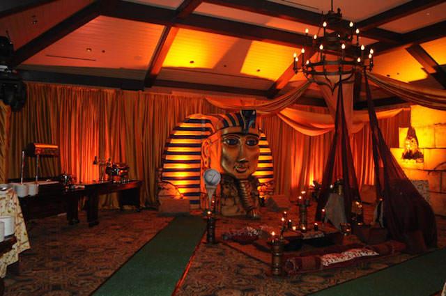 Decoracion Egipcia Hogar ~ decoraci?n de fiestas con un ambiente m?stico de Egipto