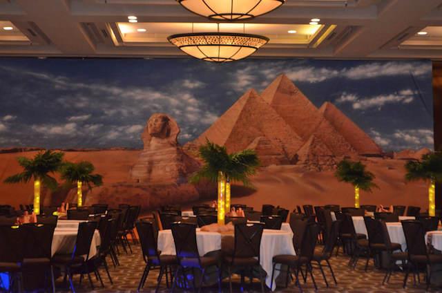 decoración de fiestas mágica Egipto